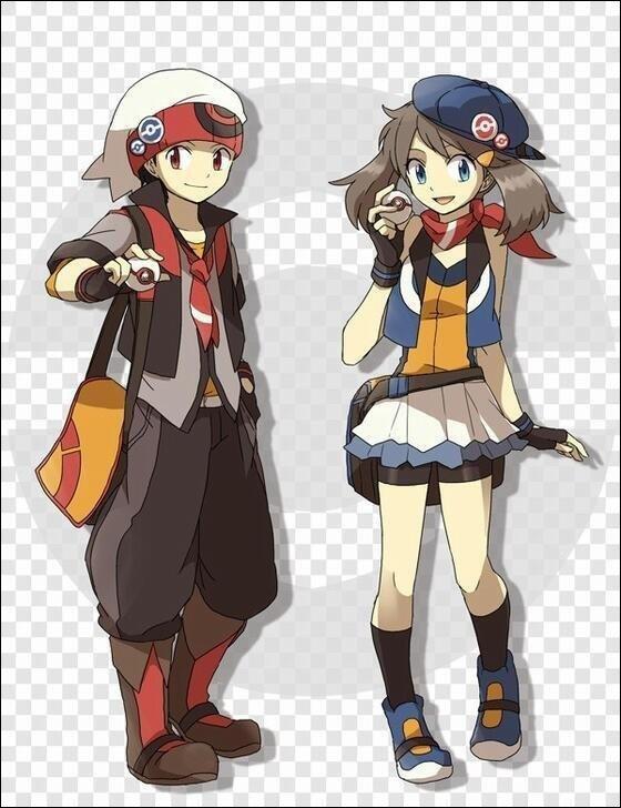 Avatars du jeu Pokémon rubis oméga et saphir alpha