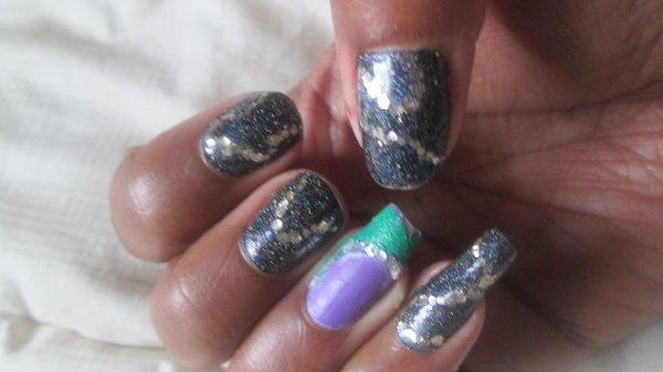 nail art de la semaine...