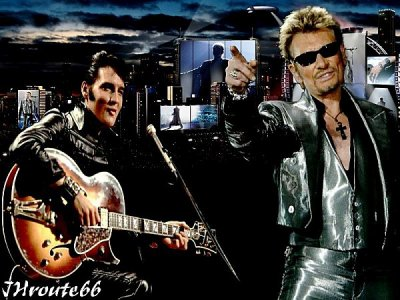 johnny hallyday rencontre elvis presley Johnny hallyday, france's biggest hallyday's glitzy stage aura was clearly fashioned around stars like elvis presley and his musical inspiration came from the.