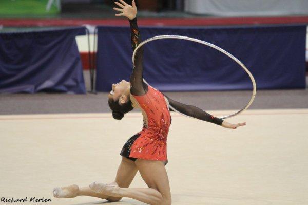 2- Championnat de France Elites Nantes 2012 - Finale Cerceau : Julie Marques, 6ème