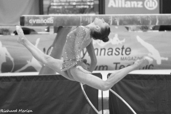 4- Championnat de France Elites Nantes 2012 - Finale Cerceau : Lucille Chalopin, 4ème