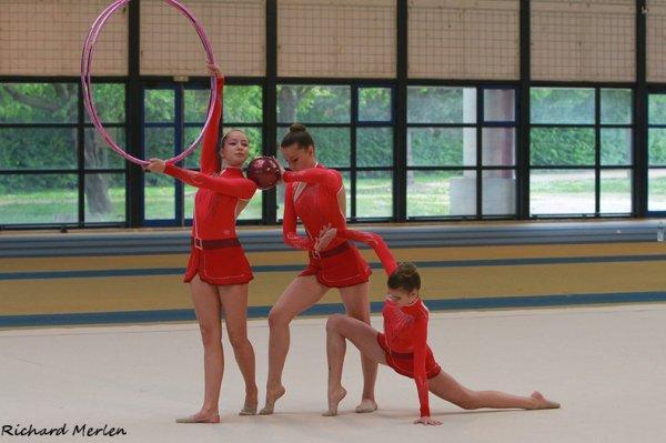 1470 - Finale de zone Ile de France DF-DN - Eaubonne 2014 - DF1 Juniors: Sucy en Brie, 3ème
