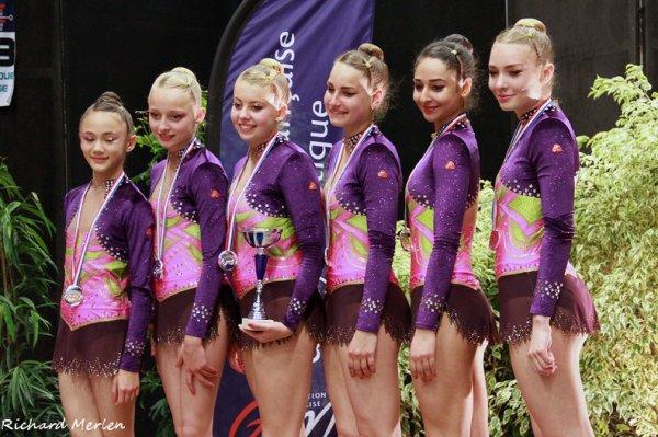 1547 - Championnat de France DF-DN Bourg en Bresse 2014: les podiums des DN