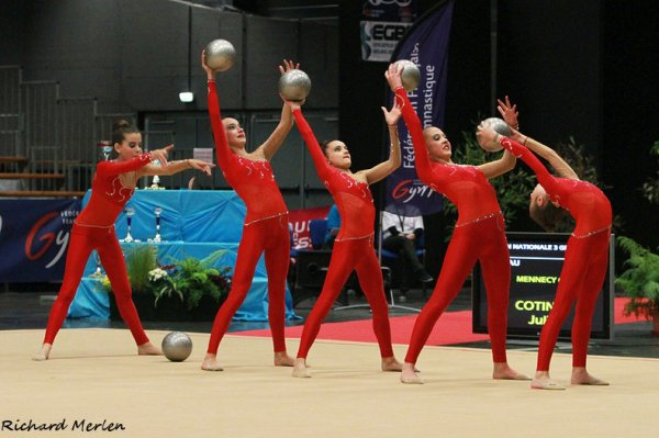 1582 - Championnat de France DF-DN Bourg en Bresse 2014 - DN3: Sucy en Brie, 1ère