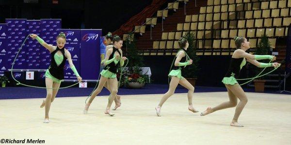 2647 - Championnat de France Ensembles Clermont-Ferrand 2016 - Ensembles 13 ans et moins: Crolles, 17ème