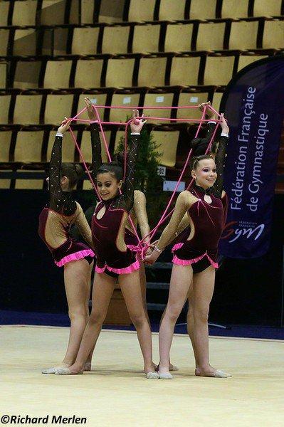 2648 - Championnat de France Ensembles Clermont-Ferrand 2016 - Ensembles 13 ans et moins: Foix-Montgailhard, 18ème