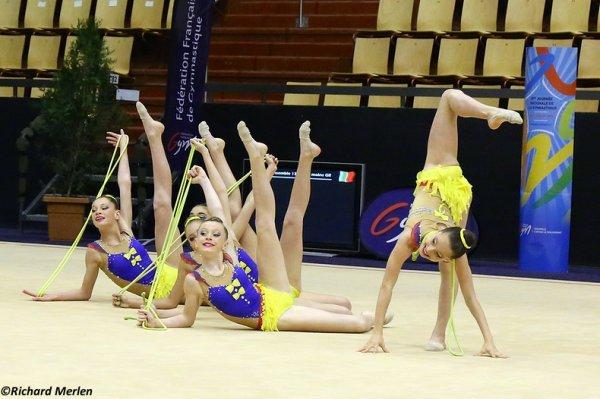 2649 - Championnat de France Ensembles Clermont-Ferrand 2016 - Ensembles 13 ans et moins: Béziers, 19ème