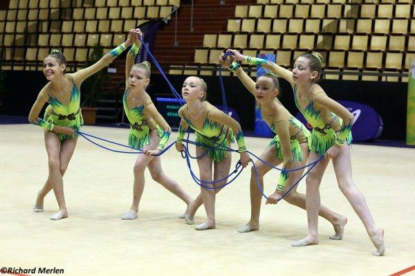 2650 - Championnat de France Ensembles Clermont-Ferrand 2016 - Ensembles 13 ans et moins: Ecully, 20ème