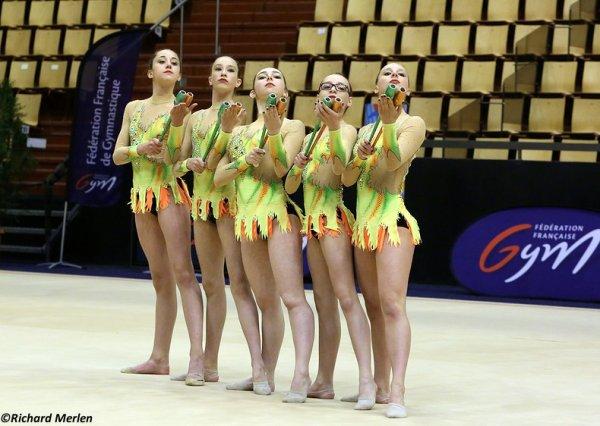 2659 - Championnat de France Ensembles Clermont-Ferrand 2016 - Ensembles 15 ans et moins: Elbeuf, 4ème