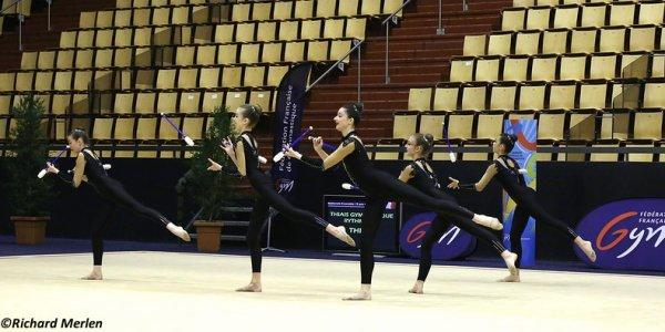 2660 - Championnat de France Ensembles Clermont-Ferrand 2016 - Ensembles 15 ans et moins: La Ferté Alais, 5ème