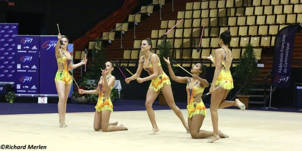 2661 - Championnat de France Ensembles Clermont-Ferrand 2016 - Ensembles 15 ans et moins: Castries Vendargues,6ème
