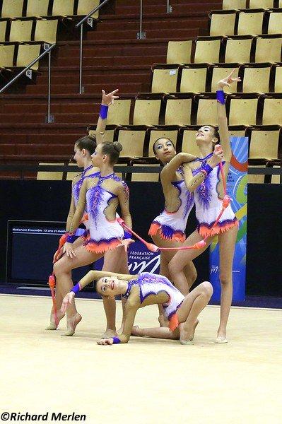 2664 - Championnat de France Ensembles Clermont-Ferrand 2016 - Ensembles 15 ans et moins: Créteil, 9ème