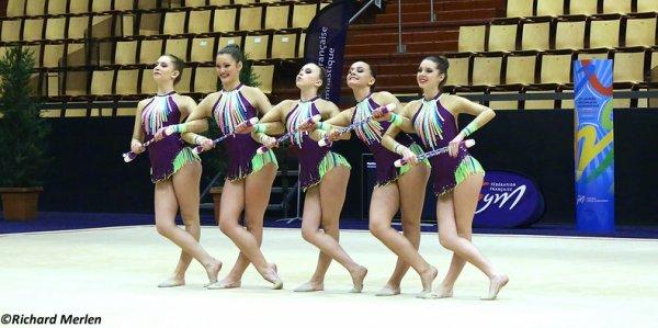 2665 - Championnat de France Ensembles Clermont-Ferrand 2016 - Ensembles 15 ans et moins: Thiais, 10ème