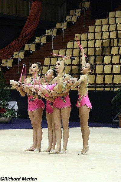 2666 - Championnat de France Ensembles Clermont-Ferrand 2016 - Ensembles 15 ans et moins: Nice, 11ème