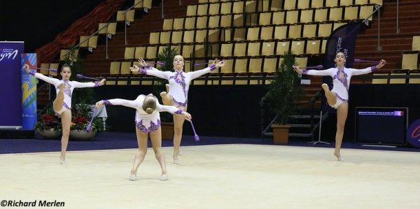2667 - Championnat de France Ensembles Clermont-Ferrand 2016 - Ensembles 15 ans et moins: Lons Le Saunier, 12ème