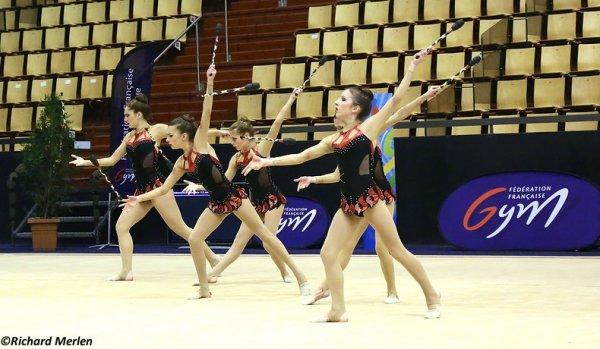 2668 - Championnat de France Ensembles Clermont-Ferrand 2016 - Ensembles 15 ans et moins: Lyon, 13ème