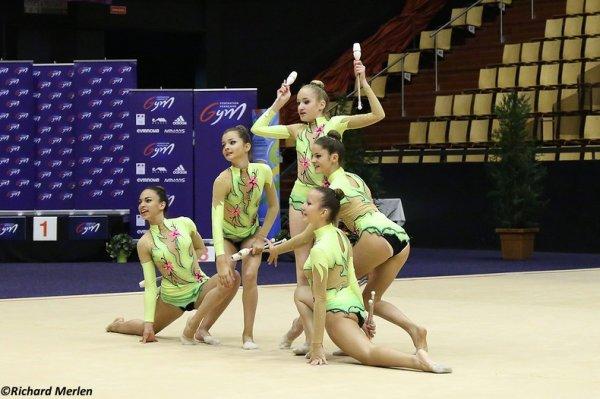 2669 - Championnat de France Ensembles Clermont-Ferrand 2016 - Ensembles 15 ans et moins: Corbas, 14ème