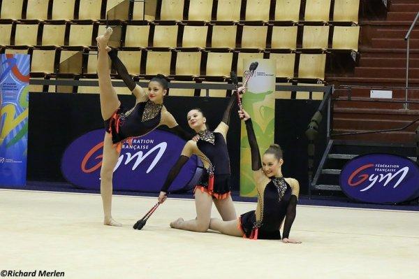 2671 - Championnat de France Ensembles Clermont-Ferrand 2016 - Ensembles 15 ans et moins: Rillieux La Pape, 16ème