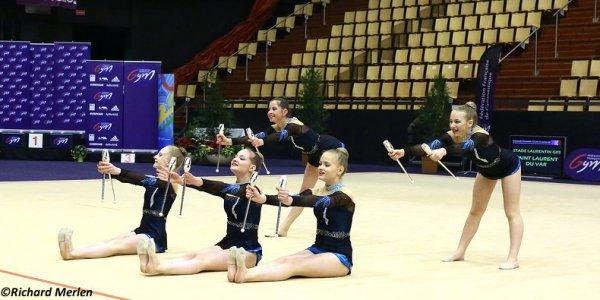 2673 - Championnat de France Ensembles Clermont-Ferrand 2016 - Ensembles 15 ans et moins: Villeneuve d'Ascq, 18ème
