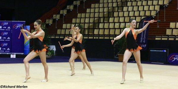 2674 - Championnat de France Ensembles Clermont-Ferrand 2016 - Ensembles 15 ans et moins: Bandol, 19ème