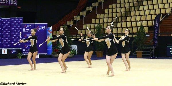 2675 - Championnat de France Ensembles Clermont-Ferrand 2016 - Ensembles 15 ans et moins: Fontenay aux Roses, 20ème