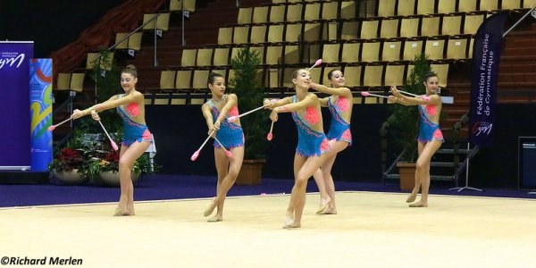 2677 - Championnat de France Ensembles Clermont-Ferrand 2016 - Ensembles 15 ans et moins: Sucy en Brie, 22ème