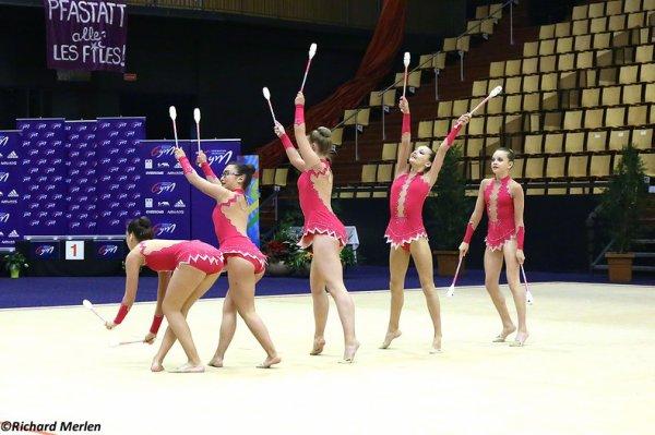 2678 - Championnat de France Ensembles Clermont-Ferrand 2016 - Ensembles 15 ans et moins: Sablé sur Sarthe, 23ème
