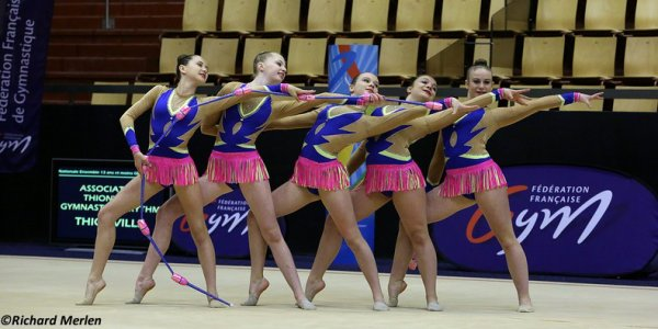 2680 - Championnat de France Ensembles Clermont-Ferrand 2016 - Ensembles 15 ans et moins: Rennes, 25ème