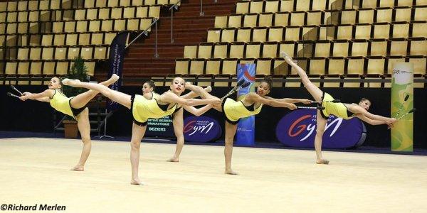 2681 - Championnat de France Ensembles Clermont-Ferrand 2016 - Ensembles 15 ans et moins: Besançon GR, 26ème