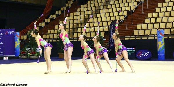 2682 - Championnat de France Ensembles Clermont-Ferrand 2016 - Ensembles 15 ans et moins: Saint Brieuc, 27ème