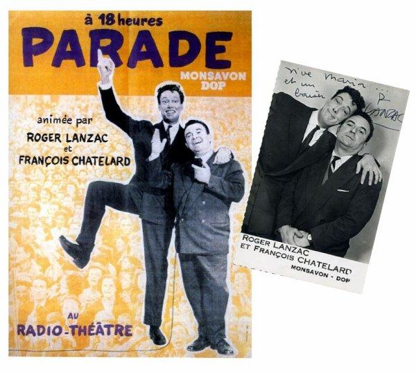 De la scène du Radio Théâtre à la piste du Radio Circus