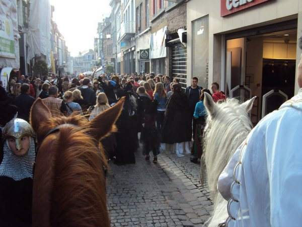 Halloween au piétonnier de Mons