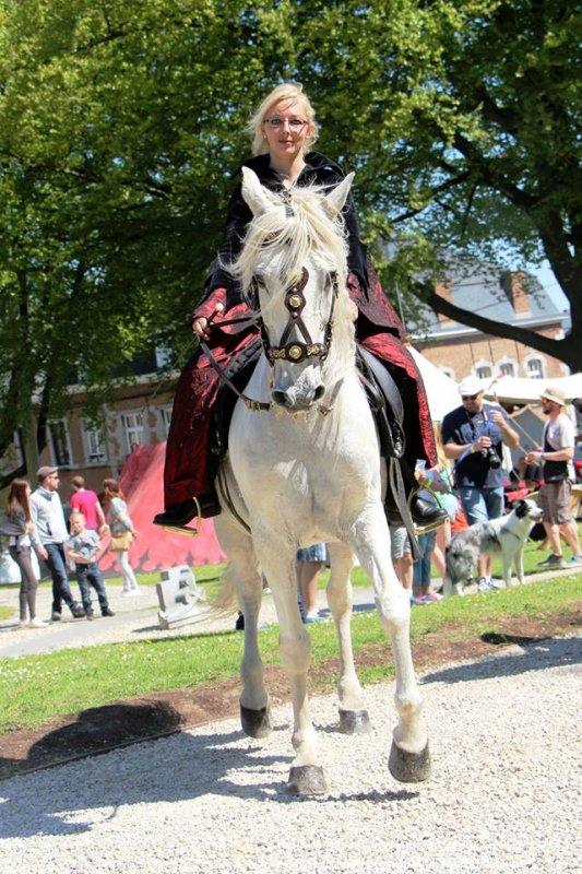 3e médiévale au Château de Trazegnies (Belgique) les 7 et 8 mai 2016