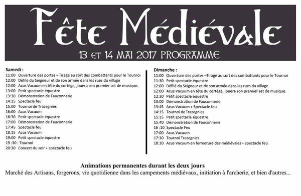 Ce week-end au Château de Trazegnies (Belgique)