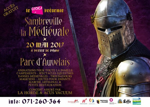 Médiévale Auvelais, le 20 mai 2017