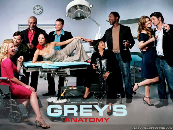 Now Now & Grey's Anatomy !  %)