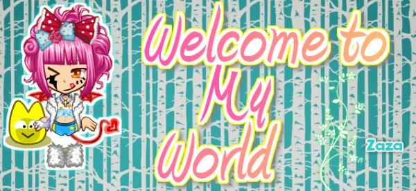 Bienvenue sur mon blog cher petit visiteur !