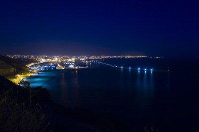my city en soir