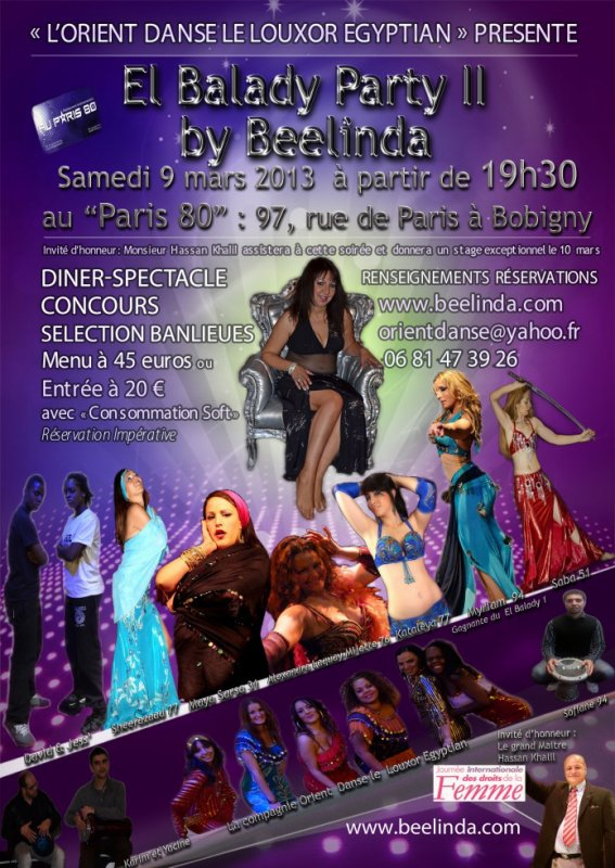 "☆ ""EL BALADY PARTY II BY BEELINDA - SELECTION BANLIEUES"""