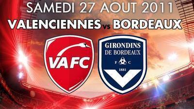 NRJ vous offres vos places pour VAFC - BORDEAUX au Stade du Hainaut