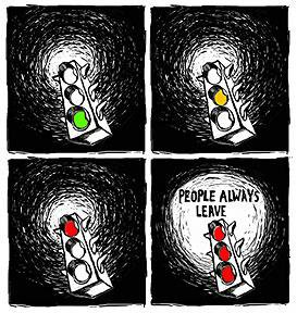 People always leave..!