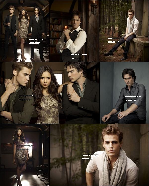 Photos promotionnelles de la saison 2 de The Vampire Diaries . Je les trouvent tout simplement magnifiques .