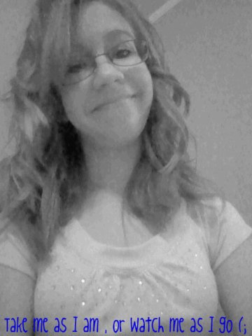 My hair , After I curled it with my curling iron ! (: