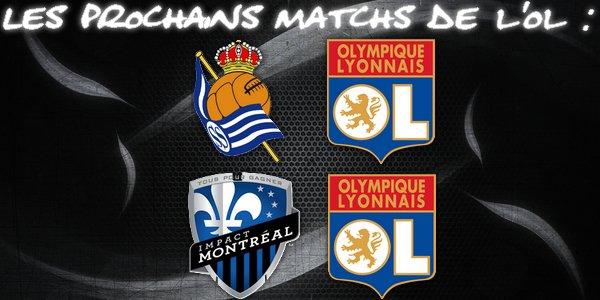 -- > Match Amical : Olympique Lyonnais - Real Sociedad ! < --