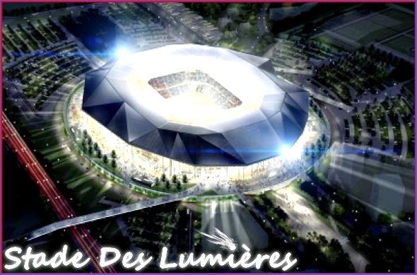 -- > Stade des Lumière ! < --
