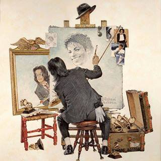 *norman rockwell version MJ