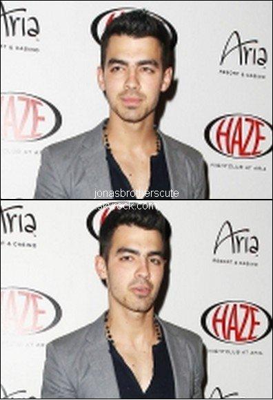 Joe Jonas été invité à une soirée au Haze Nightclub.