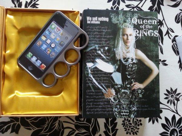 coque aluminium pour Iphone5