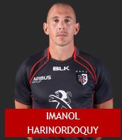 SAISON 2015 - 2016 Imanol HARINORDOQUY