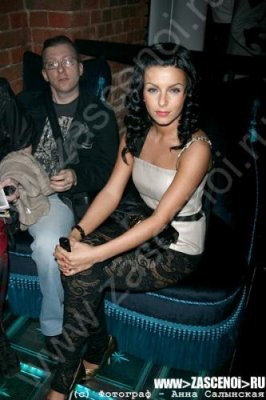 Julia Volkova - Club de The Most  - Moscou  - Russia - 24/04/2008